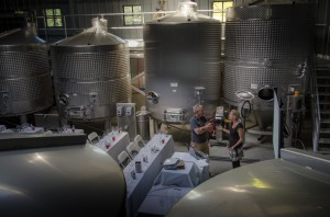 Napa Valley Wine Academy Tank Room Room