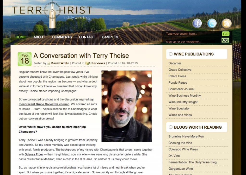 Terroirist Blog