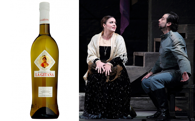 Wine and Opera La Gitana