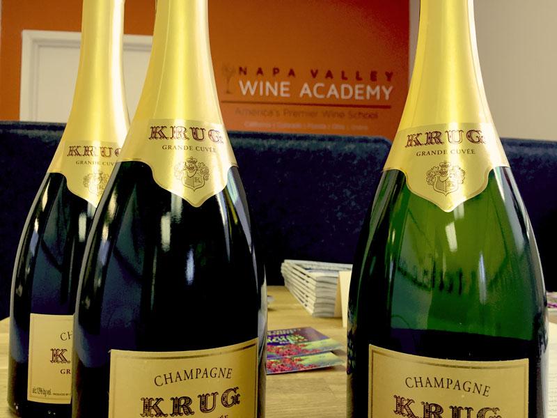Krug-bottles