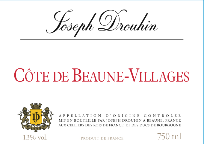 Villages Burgundy Label