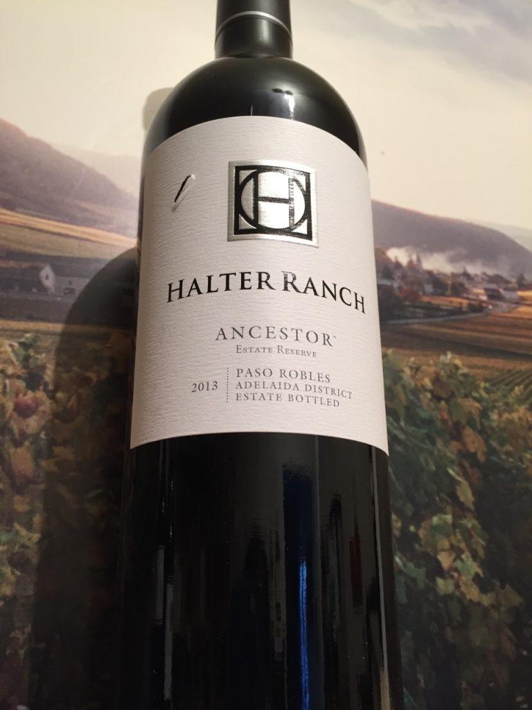 Halter Ranch 2013 Ancestor