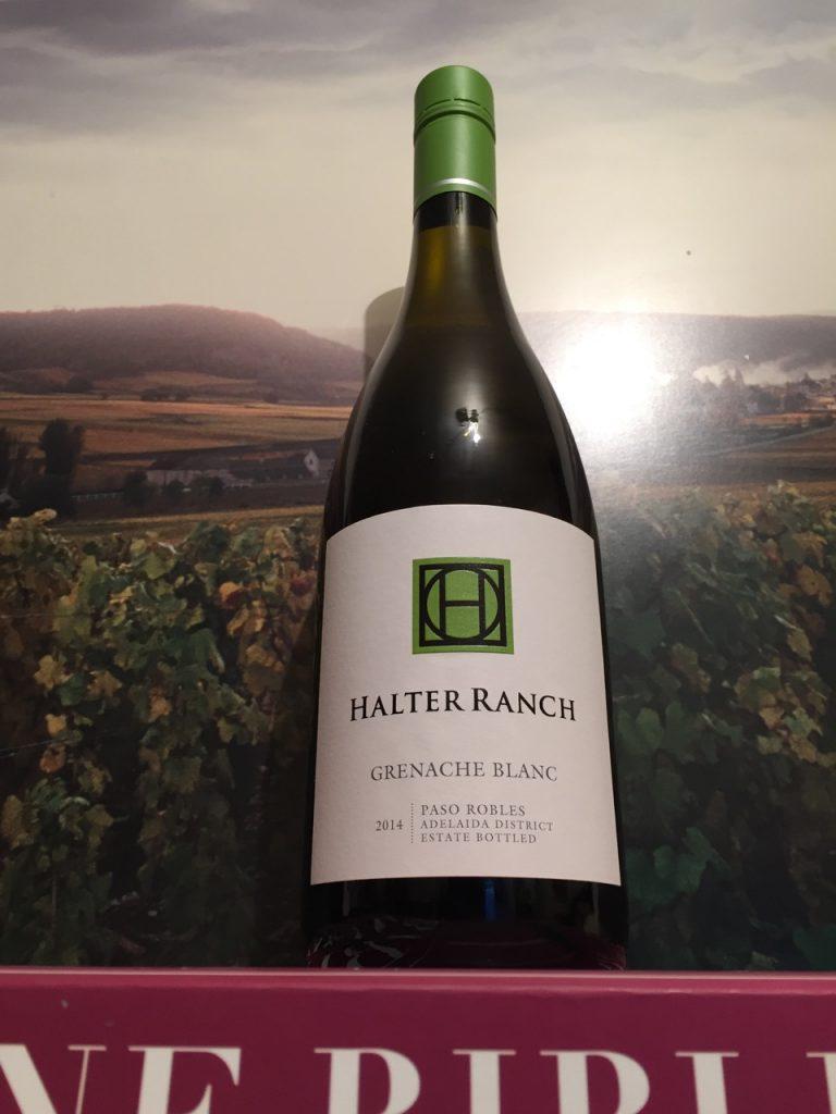 Halter Ranch 2014 Grenache Blanc
